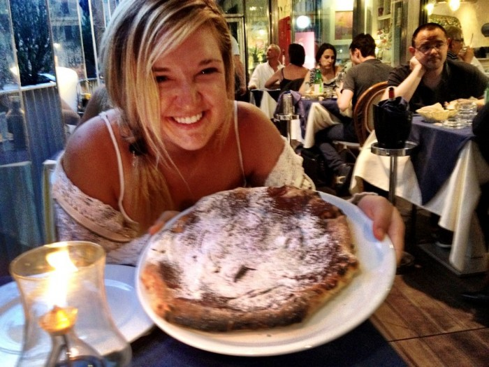 The day I ate a Nutella Pizza