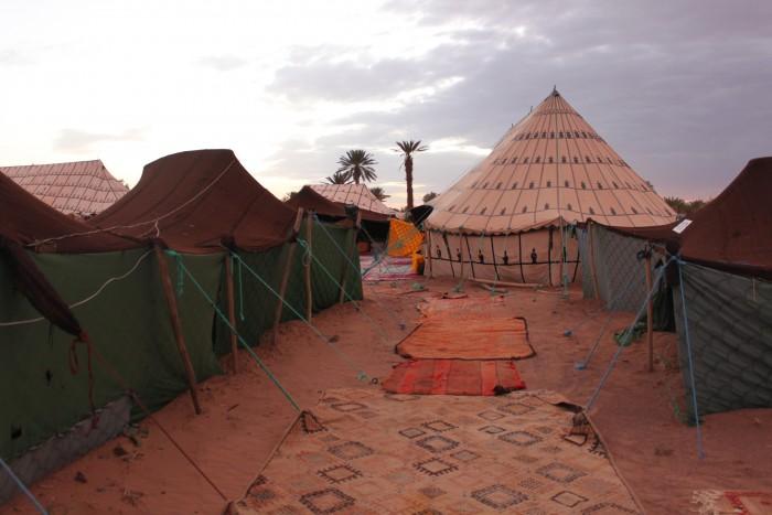 Desert camping